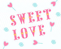 Sweet love stylish love card with pink hearts on a black. Sweet love stylish love card with pink hearts on a blue. Valentines Day wedding love greeting card with Royalty Free Stock Photography