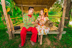 Sweet lovers like Thailand, East Thailand. royalty free stock image