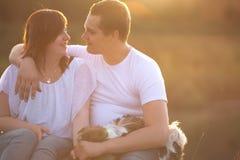 Sweet Loving Couple Stock Photos
