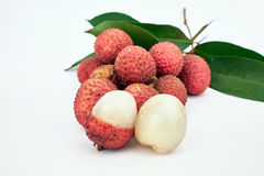 Sweet lychee fruit Royalty Free Stock Photography