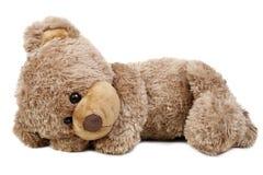 Sweet lying bear Royalty Free Stock Photography