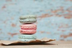 Sweet Macarons Stock Photo