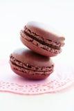 Sweet macaroons Stock Photos