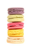 Sweet macaroons on background Stock Photos