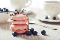 Sweet macaroons Stock Photo