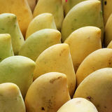 Sweet mango. At fruit market Royalty Free Stock Image