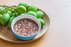 Sweet mango sauce Stock Photo