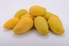 The sweet mangos in thailad. Sweet golden mangos thailand fruit Stock Image