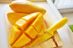 Sweet Mangos Stock Image