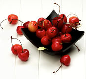 Sweet Maraschino Cherries Royalty Free Stock Photography