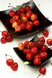 Sweet Maraschino Cherries Stock Photo