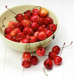Sweet Maraschino Cherries Royalty Free Stock Photo