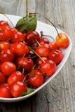 Sweet Maraschino Cherries Stock Photography