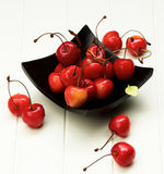 Sweet Maraschino Cherries Royalty Free Stock Photography