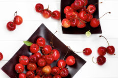 Sweet Maraschino Cherries Stock Photography
