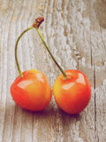 Sweet Maraschino Cherries Royalty Free Stock Photos