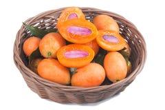 Sweet Marian plum Stock Photo