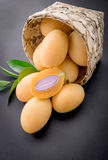 sweet marian plum thai fruit Royalty Free Stock Images