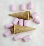 Sweet marshmallow Royalty Free Stock Images