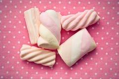 Sweet marshmallow Stock Photography