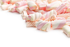 Sweet marshmallow Stock Images