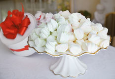 Sweet marshmallows Stock Images