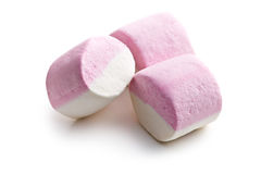 Sweet marshmallows Royalty Free Stock Images