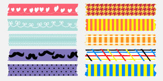 Sweet maskingtape collection Stock Image