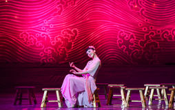 """Sweet memories-Dance drama """"The Dream of Maritime Silk Road"""". Dance drama """"The Dream of Maritime Silk Road"""" centers on the plot of two generations of a Royalty Free Stock Images"""