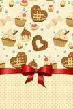 Sweet menu Stock Images