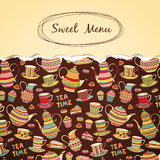 Sweet Menu Royalty Free Stock Images