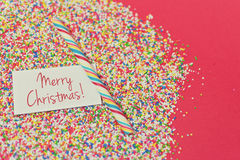 Sweet Merry Christmas Royalty Free Stock Photos