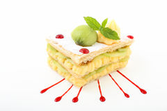 Sweet mille feuille Royalty Free Stock Images