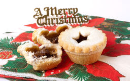 Sweet Mince Pies Royalty Free Stock Photography