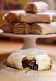 Sweet mince rolls Royalty Free Stock Image