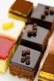 Sweet mini pastries Royalty Free Stock Photo