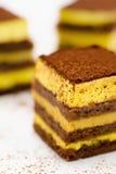 Sweet mini pastries Stock Photos