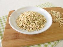 Sweet mochi rice Stock Photos