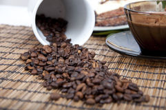 Sweet mood with coffee Stock Photography