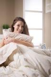Sweet morning awake Stock Images