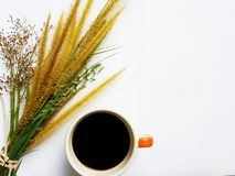 Sweet morning with coffee. royalty free stock image