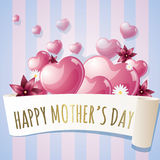 Sweet mothers day card Stock Photography
