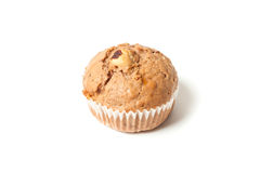 Sweet muffin isolated on a white Stock Photography