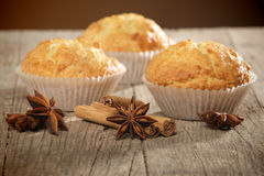 Sweet muffins Royalty Free Stock Photo