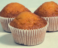 Sweet muffins, close-up Stock Image