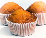 Sweet muffins, close-up Royalty Free Stock Photography
