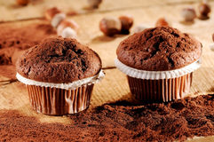 Sweet muffins Stock Image