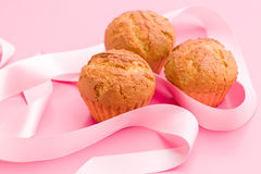 Sweet muffins Stock Photos