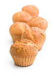 Sweet muffins Royalty Free Stock Photography