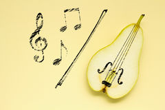 Sweet music. Royalty Free Stock Photo